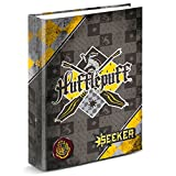 MOVIES Harry Potter Quidditch Hufflepuff A4 ring binder