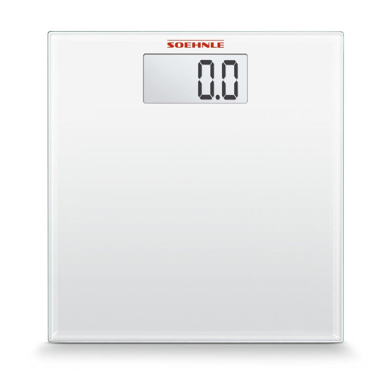 Amazon.com: SOEHNLE 63757 Digital Multi Bathroom Scales, White by Soehnle: Health & Personal Care