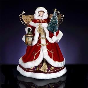RADKO VICTORIAN DELIGHT Heirloom Angel Tree Topper Christmas Figurine