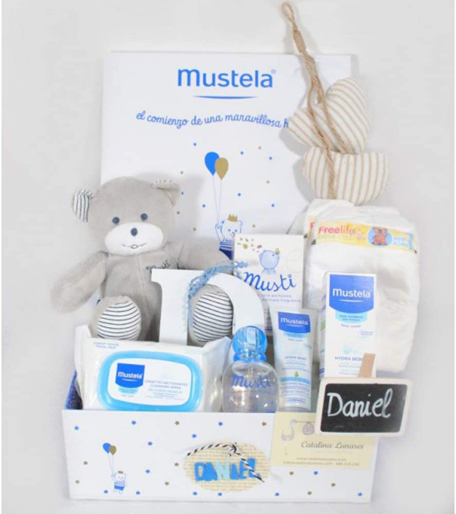 Cesta bebe Mustela Angel de la Guarda: Amazon.es: Bebé