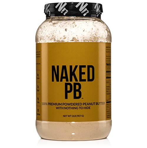 2lbs of 100% Premium Powdered Peanut Butter from US Farms – Bulk, Only Roasted Peanuts, Vegan, No Additives, Preservative Free, No Salt, No Sugar - 76 Servings - NAKED PB (Pb Powdered)