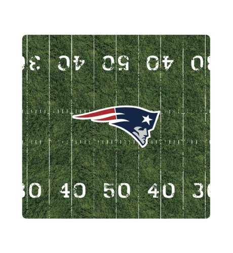 Tribeca New England Patriots Mouse Pad (Standard, (New England Patriots Team Mouse)
