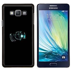 LECELL--Funda protectora / Cubierta / Piel For Samsung Galaxy A7 A7000 -- Velocímetro digital --