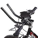 Aero Bars for Road Bike, Ferty Time Trial Triathlon Rest Bicycle TT Handlebar for Mountain/Road/City Bike