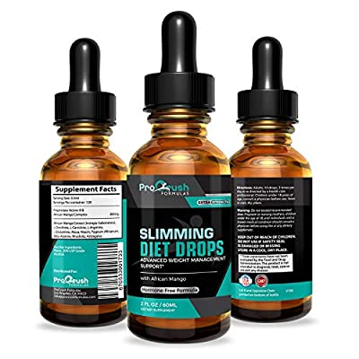 Diet Drops-Extra Strength- Lose Unwanted Belly Fat for Weight Loss & Burn More Calories. All Natural Appetite Control Suppressant & Fat Burner Boost Metabolism & Increase Energy for Men & Women.