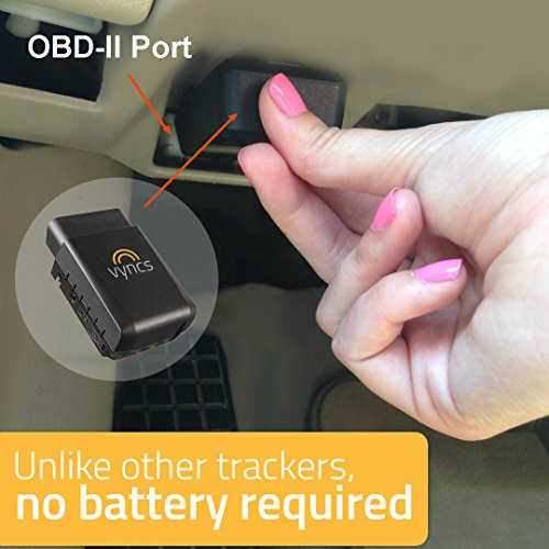 GPS Tracker Vyncs Pro No Monthly Fee OBD 3G Car Tracker Real Time GPS, Teen Coaching, Car Health, Fuel Economy, Emission, One year Roadside Assistance Included VPOBDGPS3 by Vyncs (Image #2)