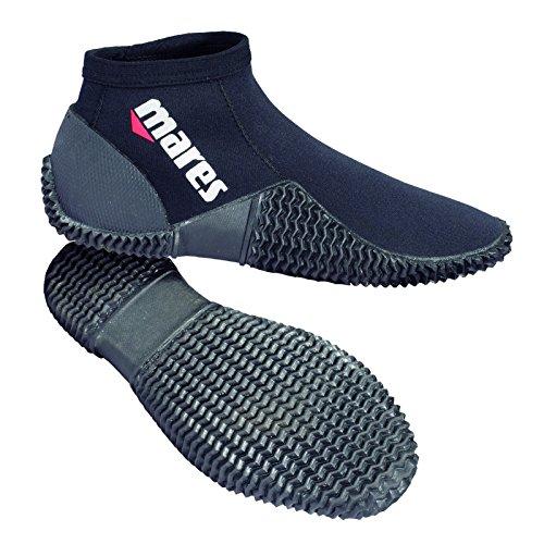 Mares Erwachsene Füßling Dive Boots Equator 2 mm, Black/Grey, 8 (40/41), 41261312020