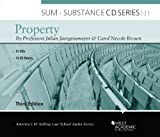 Juergensmeyer's Sum and Substance Audio on Property, 3d (CD) (Due Out Sept 2012), Julian C. Juergensmeyer, Carol N. Brown, 0314267255