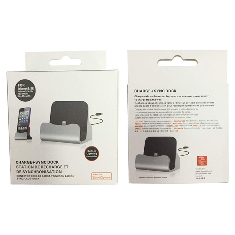 Autumn Water Charging Base Dock Station for IP X 8 7 6 USB Cable Sync Cradle Charger Base for Android Type C Samsung Stand Holder by Autumn Water (Image #5)