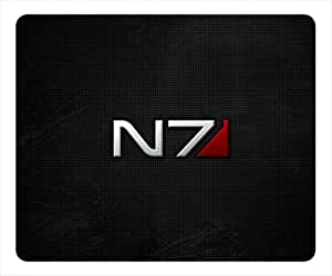 Mass Effect N7 Rectangle Mouse Pad by ieasycenter