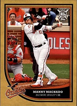 Amazoncom 2018 Topps Big League Gold 105 Manny Machado