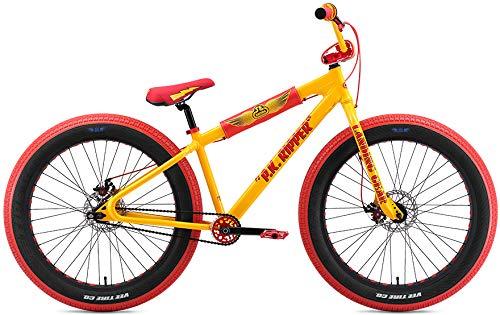 SE Fat Ripper 26 BMX Bike Yellow Mens Sz 26in