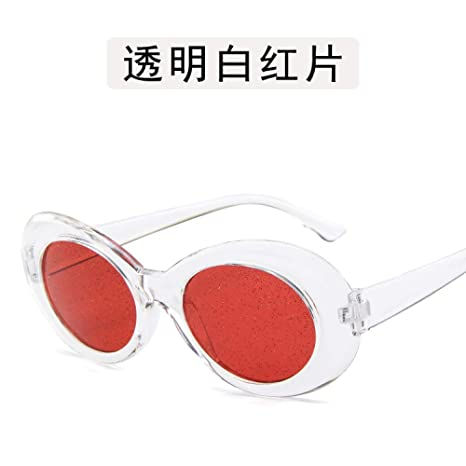 Yangjing-hl Estuche de Gafas Gafas ovaladas Gafas de Sol de ...