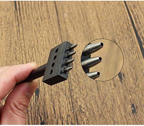 Delaman Leder Lochzange Lochzange G/ürtel Locherwerkzeug 4mm Leder Locher N/ähen Handzange Puncher Zange Leicht Puncher f/ür G/ürtel Sattel Uhrenarmband Schuh Sattel