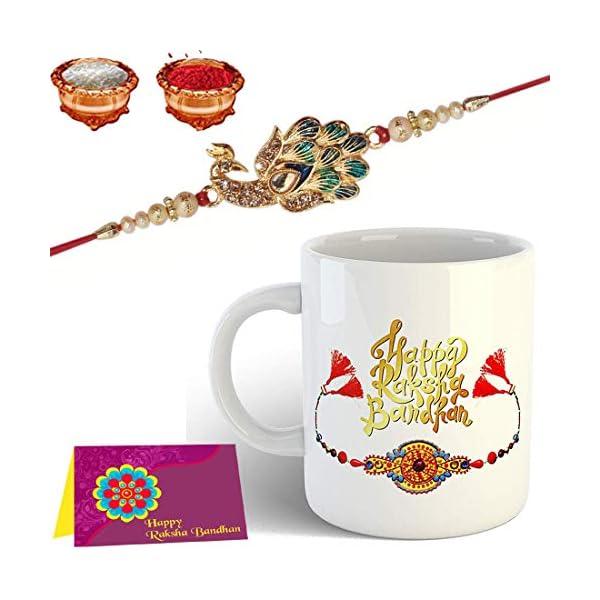 Mug Rakhi Gift for Brother Combo Pack