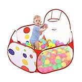 Taotree Beweglicher Hexagon Kinder Baby Bällebad Ballpool Pool Bällepool Drinnen und draußen ,...