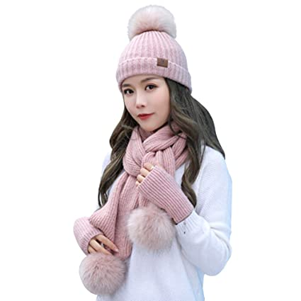 500557dd095 Image Unavailable. Image not available for. Color  Beanie Hat Scarf and  Gloves ...
