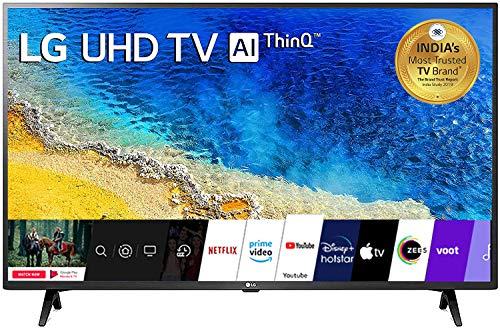 LG 108 cm (43 inches) 4K Ultra HD Smart LED TV 43UM7290PTF (Ceramic Black)