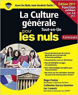 07e4e716853 Amazon.fr - La Culture générale pour les Nuls Tout en 1 Concours Fonction  publique