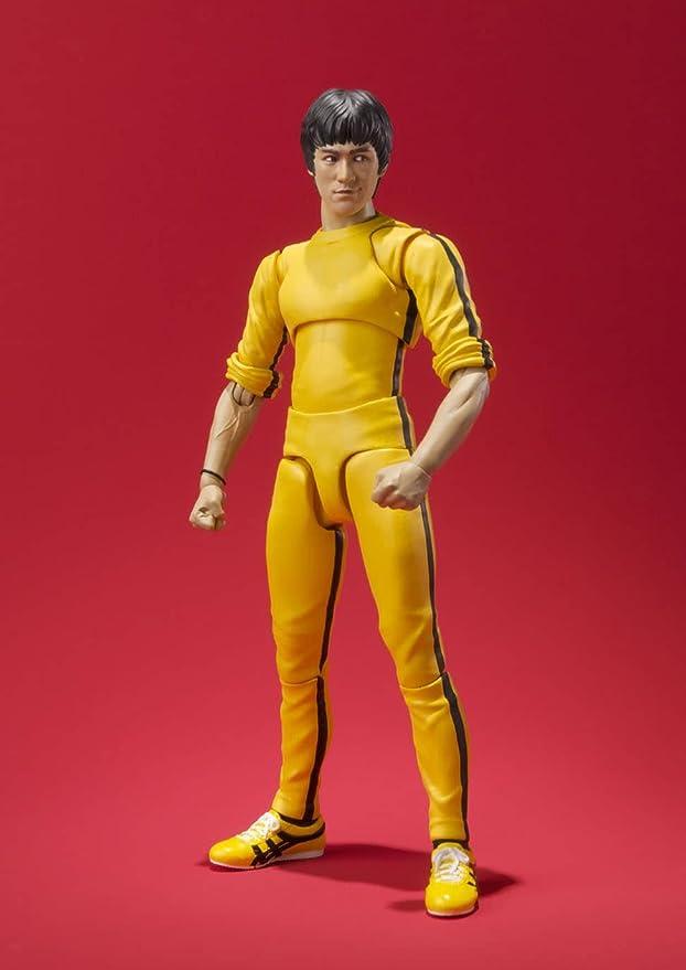 Amazon Com Bandai Tamashii Nations S H Figuarts Bruce Lee Yellow