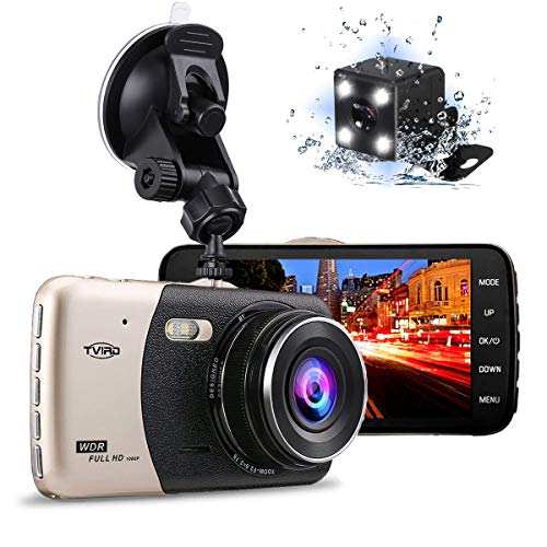 - Tvird Dash Cam 1080P Dash Camera [Newest Updated] 170°Wide Angle Car DVR with 4
