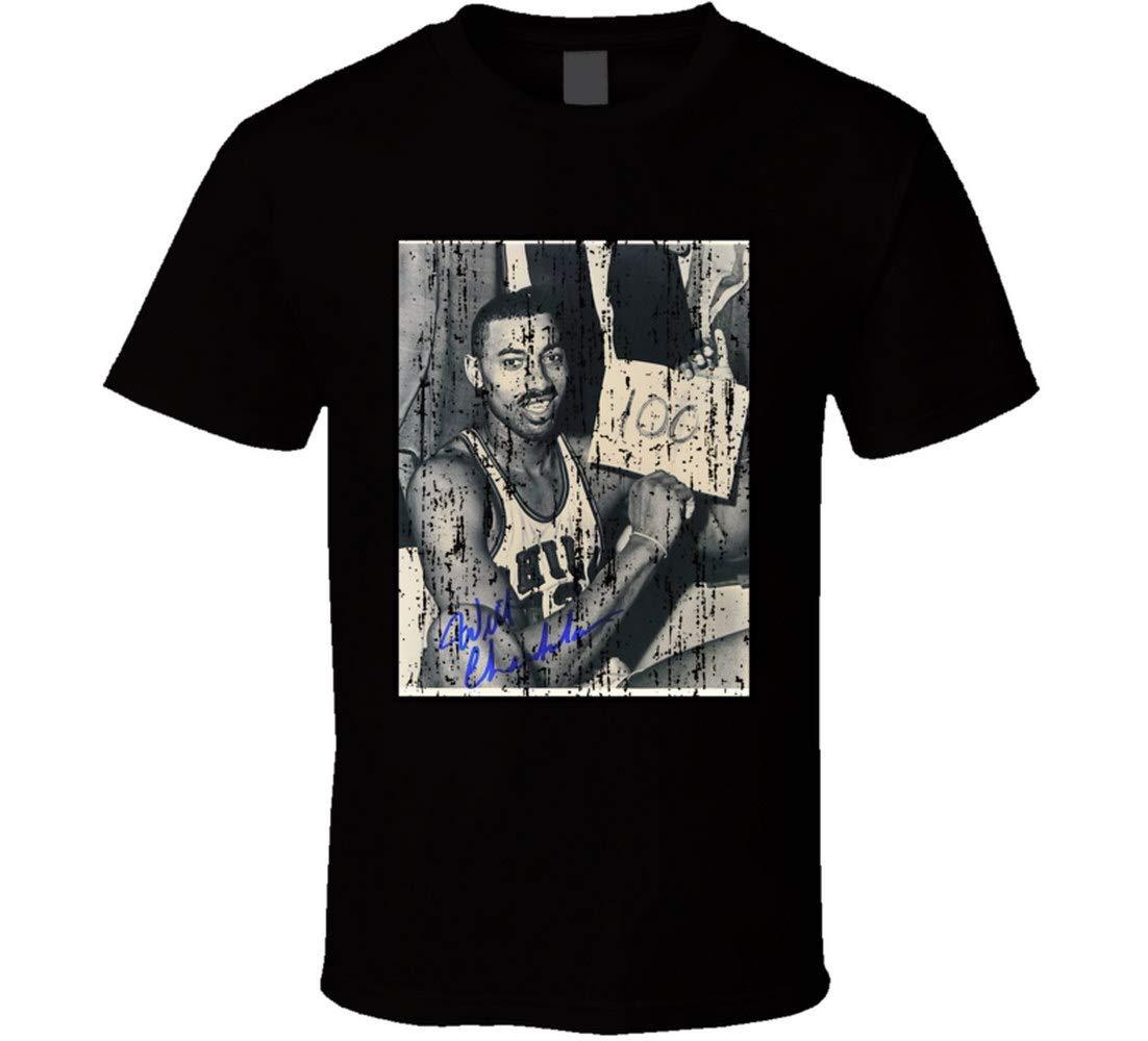 Wilt Chamberlain 100 Point Game Legend Grunge T Shirt