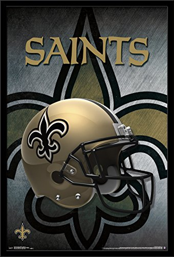 New Orleans Saints Framed - Trends International Wall Poster New Orleans Saints Helmet 22.375 x 34