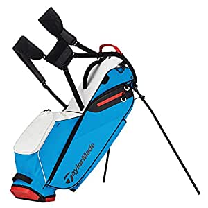 Taylormade Golf Flextech Lite Stand Bag White Blue Red