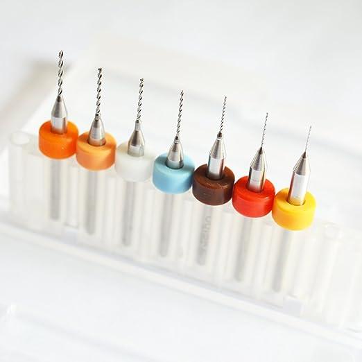 Brocas para boquilla de impresora 3D, 7PCS(0.2~0.6), 10: Amazon.es ...