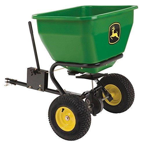John Deere 175 lb. 3.5 cu. ft. Tow-Behind Broadcast Spreader