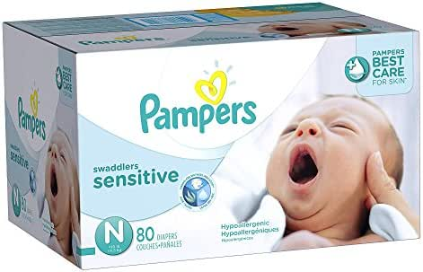 Diapers: Pampers Swaddlers Sensitive