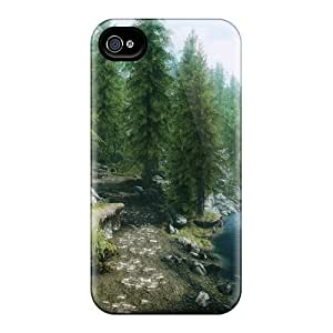 New Skyrim Forest Cases Covers, Anti-scratch MpG9656kCRA Phone Cases For Iphone 4/4s