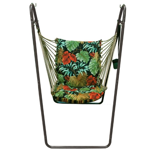Algoma Chair (Algoma 1525-6683BR Swing Chair Combination with Brass Colored Stand)