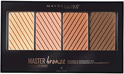 Maybelline New York Face Studio Master Bronze Kit, 0.47 Ounce