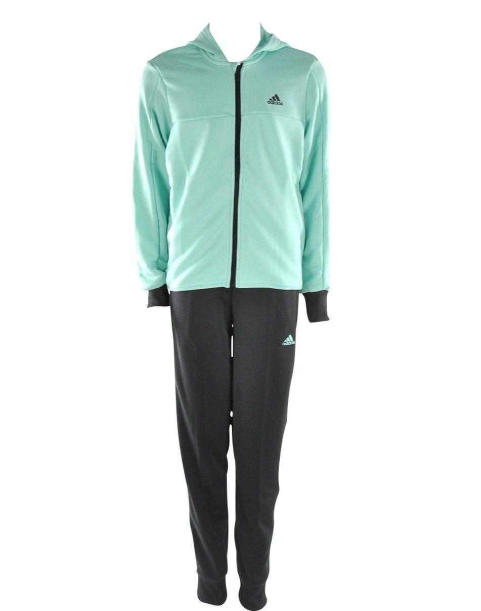 adidas Mädchen Kapuze Trainingsanzug