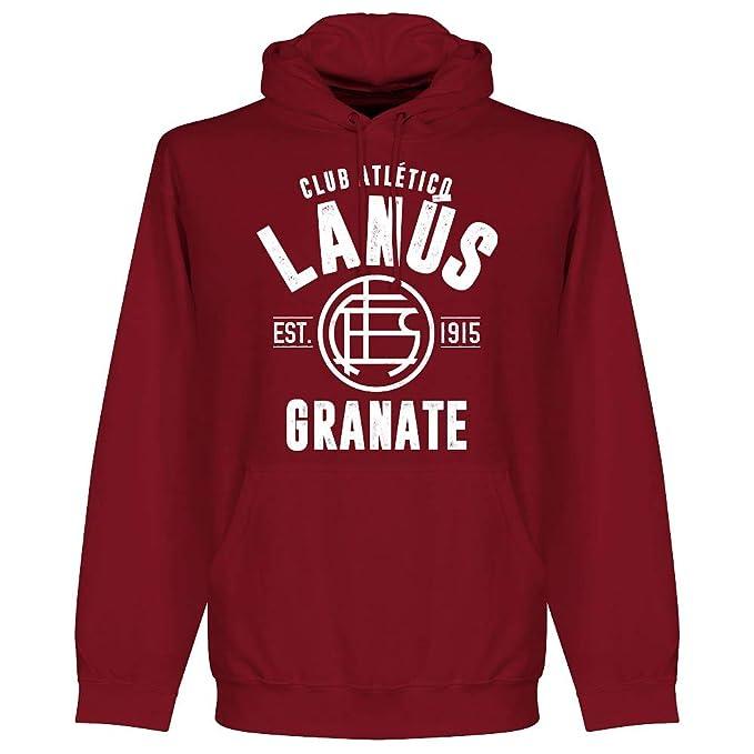 Retake Lanus - Sudadera con Capucha, Color Granate: Amazon.es: Deportes y aire libre