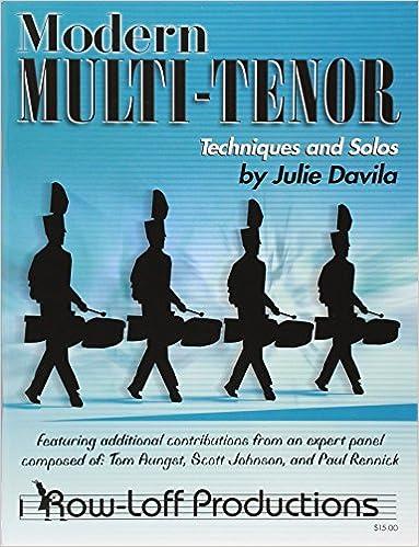 Book Modern Multi-Tenor - Techniques and Solos