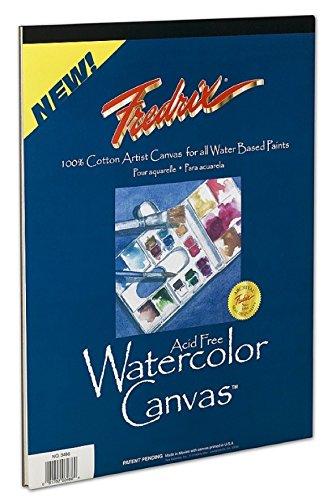 Tara Materials Fredrix 9x12 Watercolor Canvas Pad ()