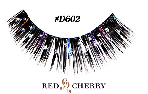 Glitter Eyelashes (with Color Tinsel - D602) ()