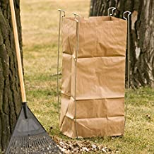 Bag Buddy Bag Holder - Versatile Metal Support Stand for 55 Gallon Plastic and Paper Contractor Bags - Use For Leaves, Yard Work, Laundry, Trash and More