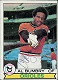 Signed Bumbry, Al (Baltimore Orioles) 1979 Topps Baseball Card in black ball point pen. autographed
