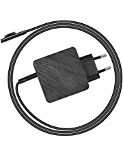 LEICKE Surface Pro Laptop Power Supply Max. 45W   TÜV   USB-C: 20V/2.25A, 2V/3A, 9V/3A, 5V/3A   Oplader 44W 15V 2.58A Adapter voor Microsoft Surface Pro 3/4/5/6 Surface Book met 6ft netsnoer   1.7m