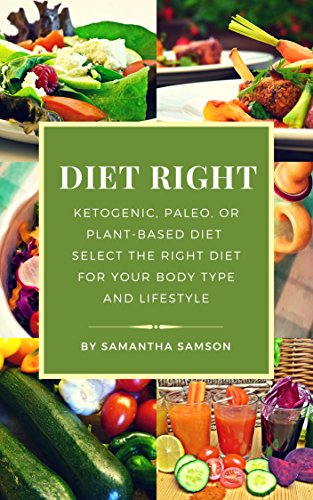 Select Diet - Diet Right: Ketogenic, Paleo or Plant-Based Diet: Select the Right Diet for Your Body Type and Lifestyle