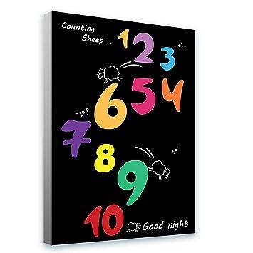 Amazon Alonline Art Counting Sheep 1 To 10 Good Night Dark