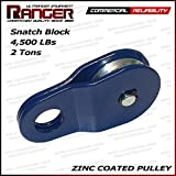 Ranger (2 Tons 4,500 LBs) Commercial Reliability Snatch Block by Ultranger