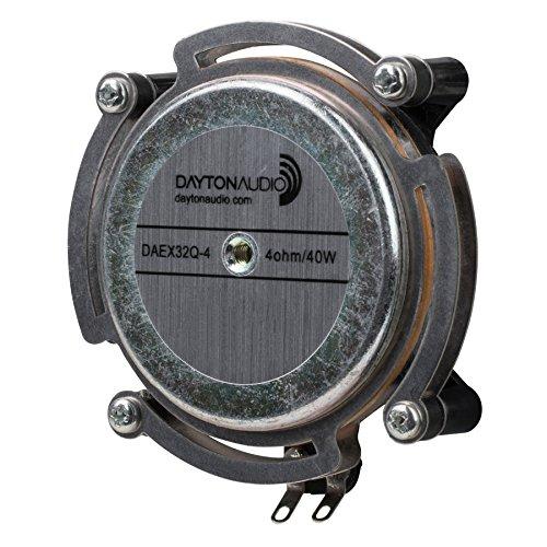 Dayton Audio DAEX32Q-4 Dual Steel Spring Balanced 32mm Exciter 20W 4 Ohm by Dayton Audio