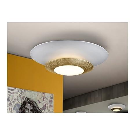 Schuller SL Lámpara de techo de LED agujero, oro: Amazon.es ...