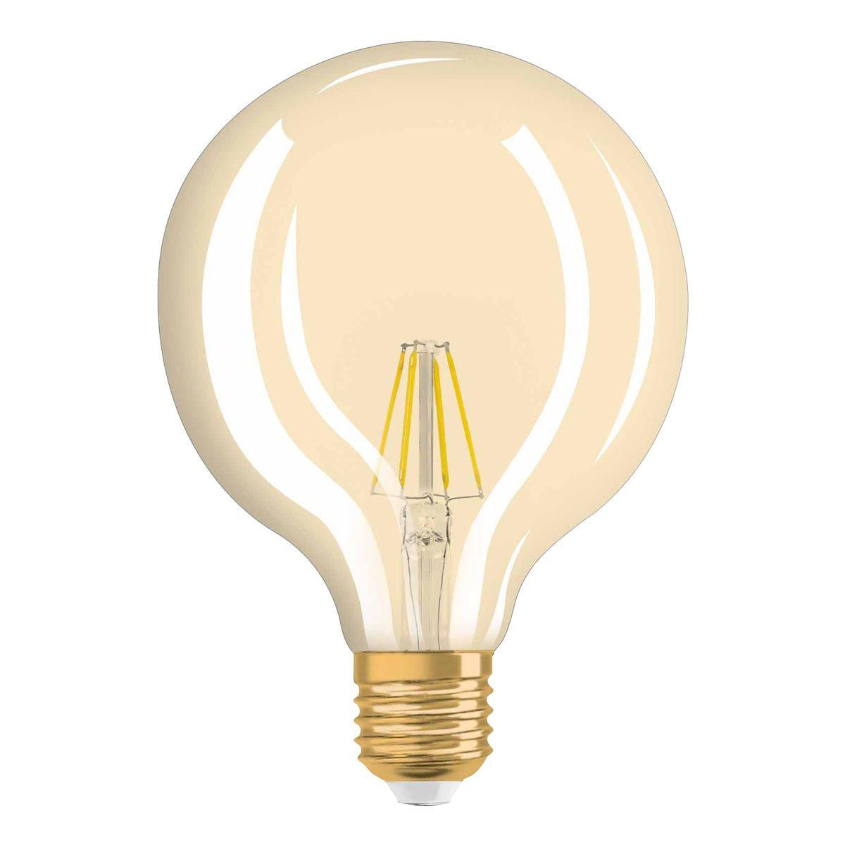 Osram LED Vintage Edition 1906, LED Lampe in Ballform mit E27 ...