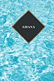 Ghana: Ruled Travel Diary Notebook or Journey  Journal - Lined Trip Pocketbook for Men and Women with Lines