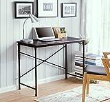 Homestar Prospero Writing Desk with Metal Legs